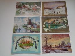 Beau Lot De 60 Cartes Postales De Fantaisie Paysages Paysage Mooi Lot Van 60 Postkaarten Fantasie Landschappen Landschap - 5 - 99 Postkaarten