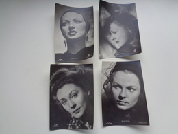 Beau Lot De 20 Cartes Postales D' Artistes De Cinéma  Ciné Acteur      Mooi Lot Van 20 Postkaarten Filmster  Artiest - Postkaarten