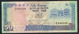 Mauritius - 50 Rupees 1986 - P37a - Mauritius