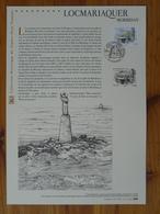 Document Officiel FDC 14-527 Mégalithes De Locmariaquer 56 Morbihan 2014 - Préhistoire