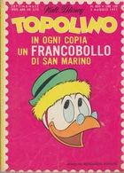 DISNEY - ALBUM TOPOLINO N°805 - 2 MAGGIO 1971 - BOLLINI PUNTI - GIOCHI NON SVOLTI - CONDIZIONI OTTIME!!! - Disney