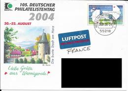 105. Deutscher Philatelistentag 2004. (Voir Commentaires) - [7] Repubblica Federale