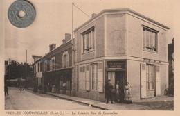 95 - Très Belle Carte Postale Ancienne De  PRESLES  - COURCELLES  La Grande Rue De Courcelles - Presles