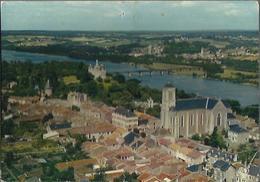 1450 Champtoceaux - L'église, Le Château Et La Loire Vers Oudon - Champtoceaux