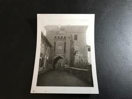 PHOTO - AIN 1933 - CHATILLON SUR CHALARONNE Porte Du Villars - Plaatsen