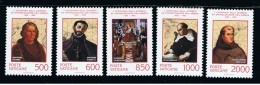 1992 - VATICANO - S01E - SET OF 5 STAMPS ** - Unused Stamps