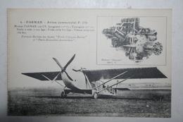 Farman - Avion Commercial F.170 - 1919-1938: Entre Guerres