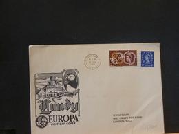 85/101  LETTRE LUNDY EUROPA 1961 - 1952-.... (Elizabeth II)