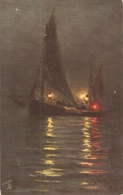 """G.R. Cordingley. With The North Sea Fishing Fleet"" Tuck Oiette PC # 2721 - Tuck, Raphael"