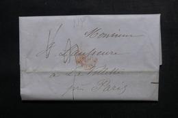 ETATS UNIS - Lettre De New York Pour Paris  - L 52906 - …-1845 Vorphilatelie