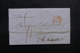 ETATS UNIS - Lettre De New York Pour Paris En 1847  - L 52907 - …-1845 Vorphilatelie