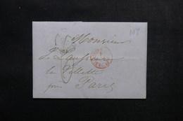 ETATS UNIS - Lettre De New York Pour Paris - L 52908 - …-1845 Vorphilatelie