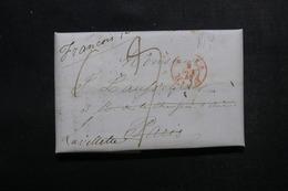 ETATS UNIS - Lettre De New York Pour Paris En 1845 - L 52915 - …-1845 Vorphilatelie