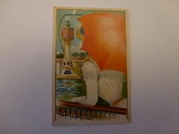 "PETIT CALENDRIER PUBLICITAIRE "" BISCUITS LU "" 1901, CHROMO DEPLIANT - Calendars"