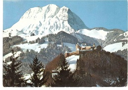 CHATEAU DE GUYERE ET LE MOLESON - FR Fribourg