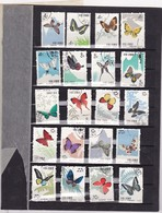 Chine  1963 Papillons N°1446/1465 - Used Stamps