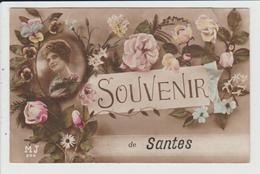 SANTES - NORD - SOUVENIR DE SANTES - France