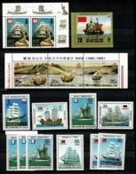 Ref 1336 - Selection Of MNH Korea Stamps - Cat £53+ - Korea, North