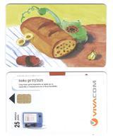 BULGARIA - Vivacom - Bread 25 Units - Sticker - Bulgaria