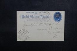 ETATS UNIS - Entier Postal De Jonegboro Pour Oxville En 1895 - L 52931 - ...-1900
