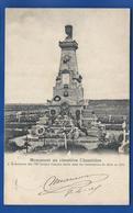 METZ     Monument Au Cimetière CHAMBIERE 1870    écrite En 1905 - Metz