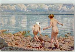 52667364 - Fischer, Paul Badeleben Frau - Lapinot