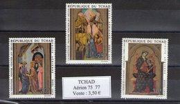 Tchad. Poste Aérienne. Noël 1970. Tableaux Religieux - Tchad (1960-...)