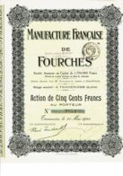 42-MANUFACTURE FRANCAISE DE FOURCHES. TERRENOIRE - Other