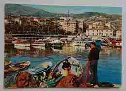 SANREMO - Particolare Del Porto - Barche, Pescatori -  Vg  L2 - San Remo