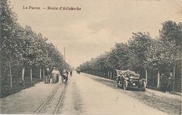 LA PANNE - ROUTE D'ADINKERKE - De Panne