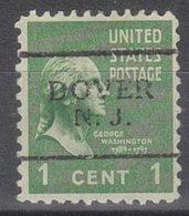 USA Precancel Vorausentwertung Preo, Locals New Jersey, Dover 701 - Vereinigte Staaten