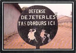 Afrique- BENIN PORTO NOVO  Panneau Urbain (B)  (Chez Bonne Idée Editions : ZREIK Photo Lerat N°14)*PRIX FIXE - Benin