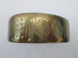 Ethiopie - Ancien Bracelet Ethnique En Bronze - African Art