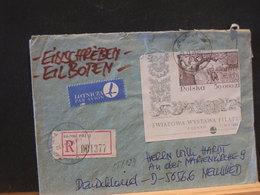 85/129  LETTRE   POLOGNE  POUR LA BELG. - Lettres & Documents