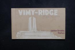 MILITARIA - Carte Postale - Carnet De Vimy - Vues Des Tranchées - L 52937 - Oorlog 1914-18