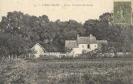 CARTE POSTALE ORIGINALE ANCIENNE : L'ISLE ADAM LA MAISON FORESTIERE DE CASSAN VAL D'OISE (95) - L'Isle Adam