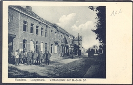 LANGEMARK - Flandern. Langemark - Verbandplaz Der .-S.-K. 52 - Langemark-Poelkapelle