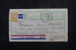 PARAGUAY - Enveloppe De Asuncion Pour La France En 1935 Par Avion, Affranchissement Et Cachet Plaisants - L 52941 - Paraguay