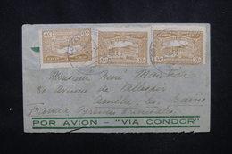 PARAGUAY - Enveloppe De Asuncion Pour La France En 1937 Par Avion, Affranchissement Et Cachet Plaisants - L 52942 - Paraguay