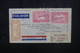 PARAGUAY - Enveloppe De Asuncion Pour La France En 1937 Par Avion, Affranchissement Et Cachet Plaisants - L 52943 - Paraguay