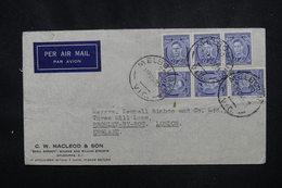 AUSTRALIE - Enveloppe Commerciale De Melbourne Pour Londres En 1938 , Affranchissement Plaisant - L 52945 - Marcophilie