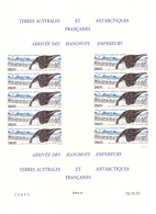 TERRES AUSTRALES PA N°133** OISEAU,MANCHOT FEUILLE NON DENTELEE - Imperforates, Proofs & Errors