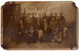Nice C.1930 ? Avant Le Match De Boxe Contre Bastia Au Theatre... Carte Photo CRB - Non Classés
