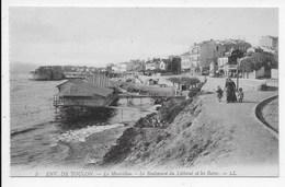 DC 1679 - ENV. DE TOULON - Le Mourillon. - Le Boulevard Du Littoral Et Les Bains. LL 5 - Toulon