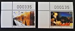 3EME ANNIVERSAIRE DE L'INDEPENDANCE 2011 - NEUFS ** - YT 75/76 - MI 184/85 - COINS DE FEUILLES NUMEROTES - Kosovo