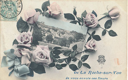 LA ROCHE SUR YON - DE LA ROCHE SUR YON JE VOUS ENVOIE CES FLEURS - La Roche Sur Yon