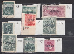 CSSR Old Forgery Nice Set - Czechoslovakia