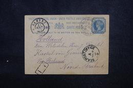 INDE - Entier Postal De Shembaganur Pour Les Pays Bas En 1902, Oblitérations à Voir - L 52953 - 1882-1901 Imperium