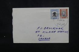 SOUDAN - Enveloppe De Khartoum Pour Le Canada En 1956, Affranchissement Plaisant - L 52956 - Soudan (1954-...)