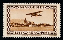 SARRE 1932 - Yv. PA 4 *   Cote= 50,00 EUR - Aéroport De Sarrebruck  ..Réf.DIV20213 - Airmail